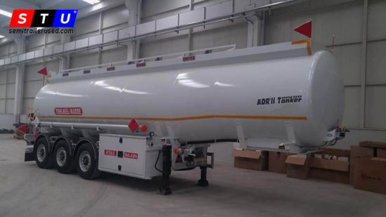 NEW-HALF-PIPE-TANKER-TRAILER-ADR CERT-STUTRAILERS-PRODUCER-3AXLES-SAF AXLES-BPW AXLE-MANUFACTURER IN TURKEY