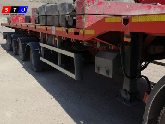 windmill wing lowbed loader - STU TRAILERS- TURKEY-USED LOWBED-PRICE-FOR-SALE