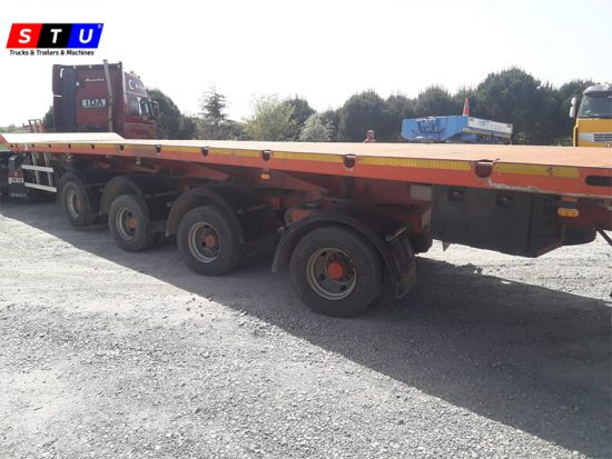 windmill wing lowbed loader - STU TRAILERS- TURKEY-USED LOWBED-PRICE-FOR-SALE- POLAND