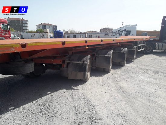 windmill wing lowbed loader - STU TRAILERS- TURKEY-USED LOWBED-PRICE-FOR-SALE- PRODUCER