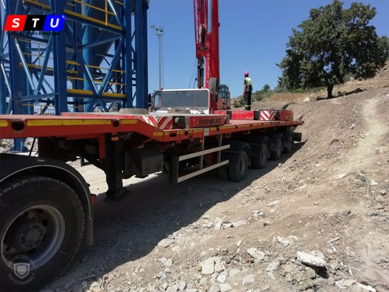 windmill wing lowbed loader - STU TRAILERS- TURKEY-USED LOWBED-PRICE-FOR-SALE- TURKEY-PRODUCER